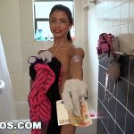 BANGBROS – Petite Latina Cleaning Lady Veronica Rodriguez Takes a Big Dick