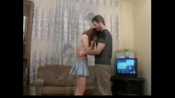 Russian Redhead Teen get pussy fucked, anal and a facial and loves it.