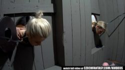Tied Girls Waiting on Your Cock in Glory Holes Group Sex hd xxx